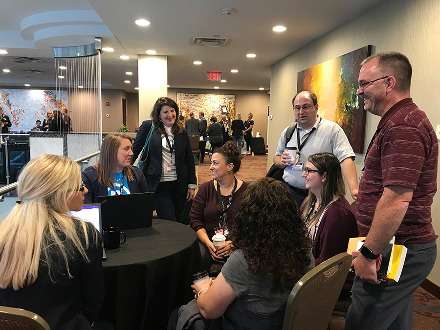 Expert bar discussion at CampusConnect 2019