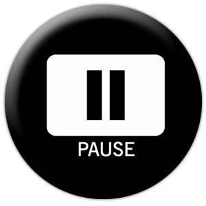 Pause button before saying unprofessional reaction.
